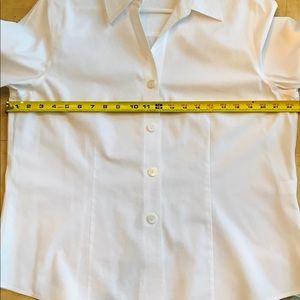 Foxcroft white blouse